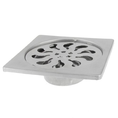 sourcingmap-square-stainless-steel-shower-floor-drain-strainer-3-inch-cover