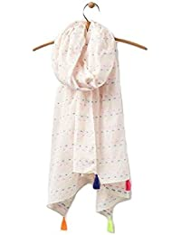 Joules Carnival - Bright White (Textile) Accessories Scarves One Size
