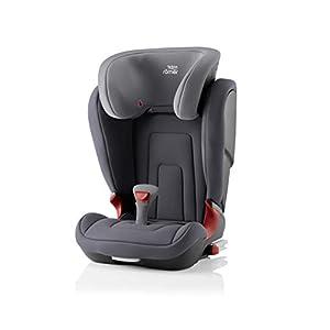 Britax Römer car seat 15-36 kg, KIDFIX 2 R Isofix group 2/3, Storm Grey   12