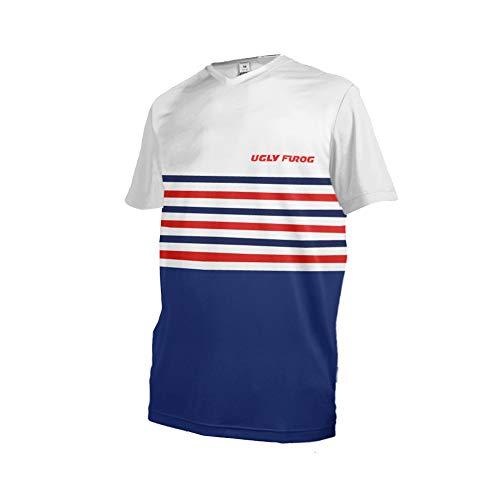 Uglyfrog Manica Corta Magliette Downhill DH/AM/XC/FR/MTB/BMX/Moto/Enduro Camicia Offroad Racewear Abbigliamento Maglia da Ciclismo