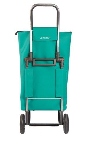ROLSER Einkaufsroller LOGIC RG / SUPERBAG, SUP001, 41 x 32 x 105,5 cm, 50 Liter, 40 kg Tragkraft verde