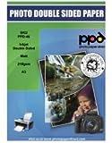 PPD Papier photo recto-verso mat pour imprimante Jet d'encre A3210g/m² x 100feuilles PPD-46-100...
