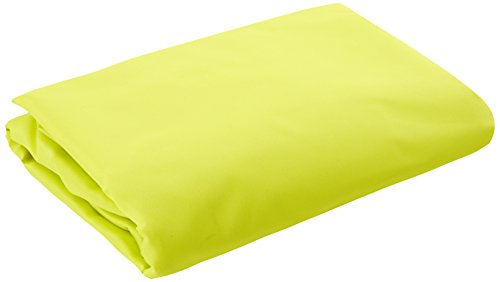 Ideanature toile d'ombrage triangulaire 5x5x5m polyester déparlent anti UV 180 gr/m2 vert anis, , Vert Anis, 36 x 25 x 5 cm,