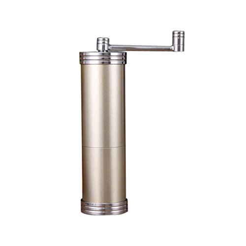 ELECTROPRIMEÃ?â??® Stainless Manual Coffee Bean Grinder Spice / Nuts Grinding Tool Champagne