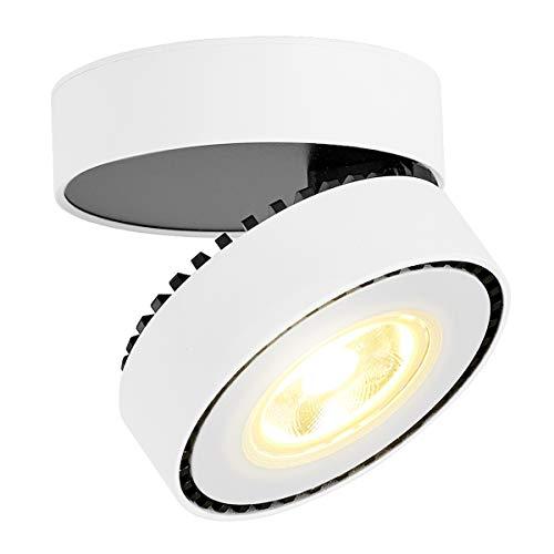 LANBOS 12W Lámpara de techo LED,Foco LED para techo y pared, Focos...