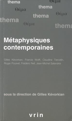 Metaphysiques Contemporaines (Thema)