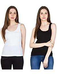 91b87889e38 SMEXY Camisole Sleeveless Vest Slim Crop Top Spaghetti Strap Camis Cotton  Tube Bodysuit Tank Top