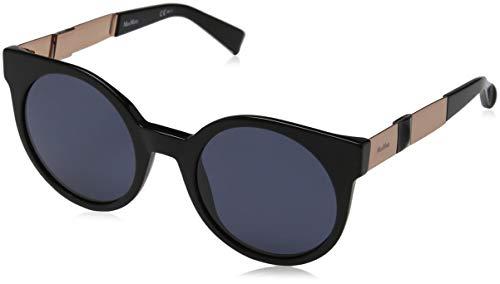 Max Mara Damen MM PRISM VIII IR 807 51 Sonnenbrille, Black/Gy Grey,