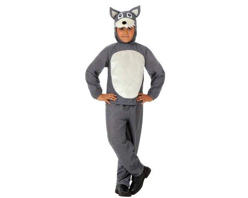 Imagen de atosa  disfraz de lobo infantil, talla 7  9 años 10814