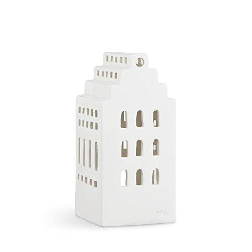 Kähler Design - Lichthaus - Teelichthaus - Urbania - Herrenhaus - Keramik - Höhe 17 cm
