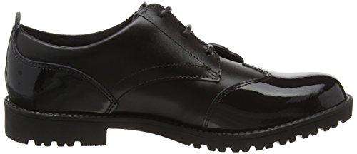 Kickers Lachly Lace, Chaussures Pour Femmes Black (noir)