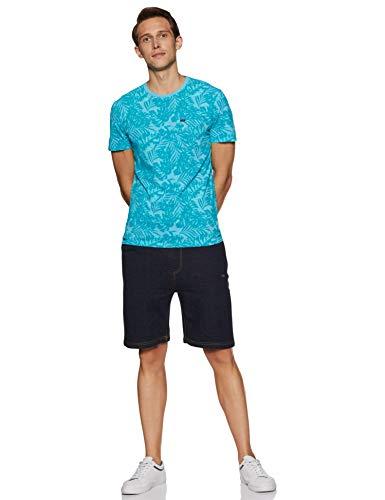 Best superdry bags in India 2020 Superdry Men's Printed Slim fit T-Shirt (M10114YT_Poolside Aqua_L) Image 5
