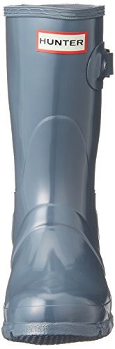 Hunter Original Short Gloss, Bottes femme Graphite