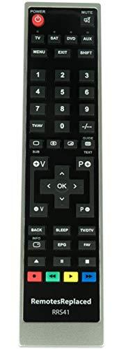 RemotesReplaced Ersatzfernbedienung kompatibel mit Philips 75PUS7101/12