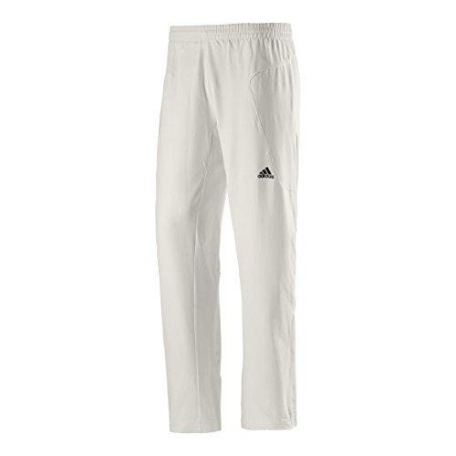 adidas Herren Cricket Hose - Weiß, 44 -