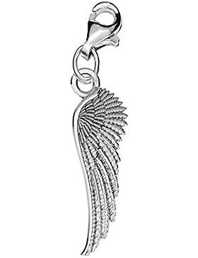 Echt Silber 925 Gefallener Engel Flügel clip on für Thomas Sabo charm-Armband oder Halskette