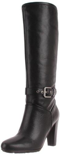 Rockport Jalicia Buckle Tall Boot K71948 Damen Fashion Halbstiefel & Stiefeletten Schwarz (Black)