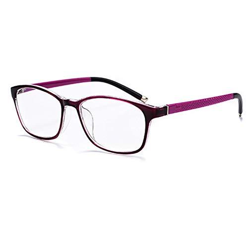 Lesebrille für Männer und Frauen, Anti-Blaulicht-Handy-Brille, Multi-Fokus-Gleitsichtglas Anti-Scratch/Anti-Smudge, sehr Gute Lichtdurchlässigkeit, sehr komfortabel