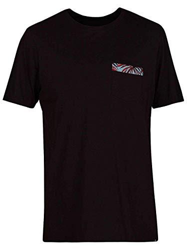 Hurley Herren T-Shirt Floral Pocket T-Shirt - Hurley-t-shirt Pocket