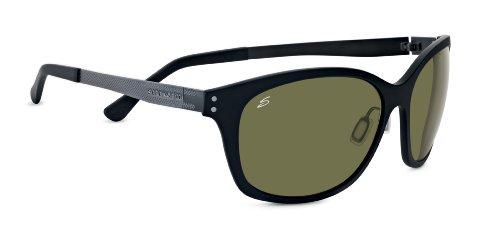 Serengeti eyewear lunettes de soleil sara M Noir - Noir satiné 27e94acfe708
