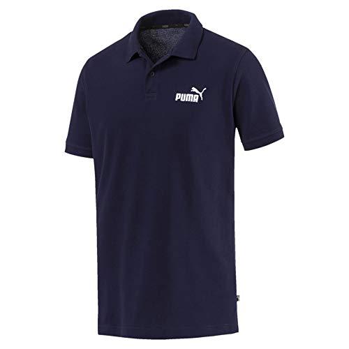Puma Herren Essential Pique Polo T-Shirt, Peacoat, L - Polo-shirts Frauen
