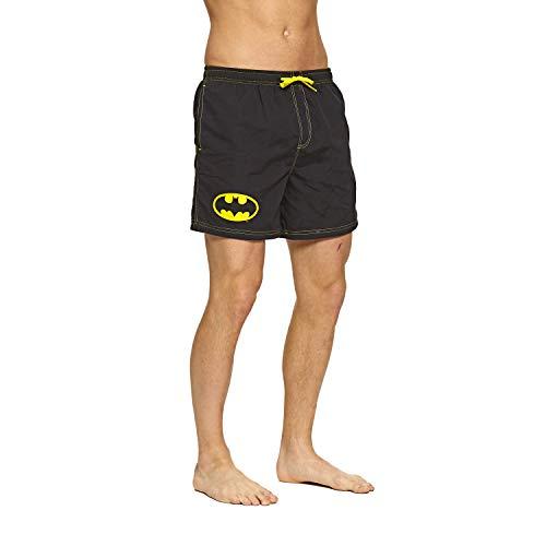 Zoggs Batman Water Shorts, Pantaloncini Uomo, Nero, X-Large/38-Inch