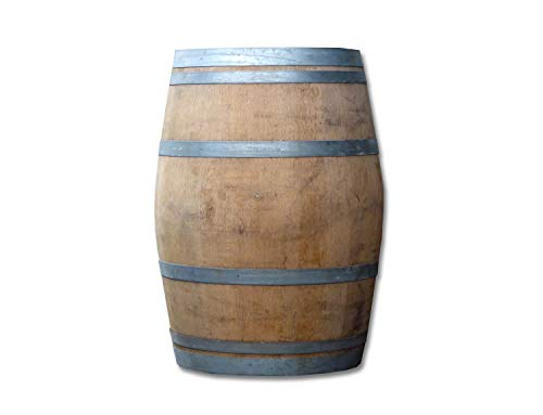 Stehtisch Tisch aus Holzfass, Gartentisch Weinfass, Fass, Barrique Tisch aus Eiche Holz 225 Liter