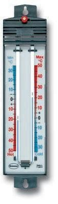 Magnet RE Set Max Min Thermometer Celsius nur–Ideal Gewächshaus Thermometer