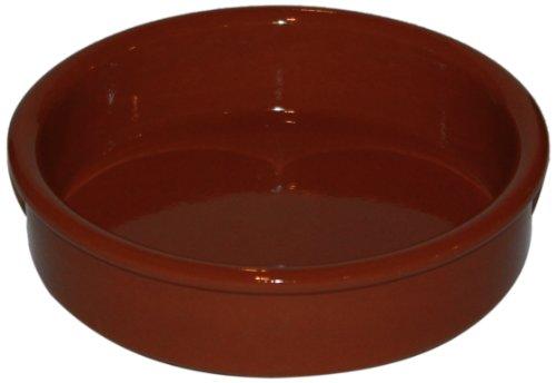 Amazing Cookware Plat circulaire en terre cuite naturelle 11 cm