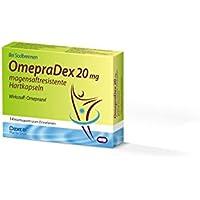 Preisvergleich für OMEPRADEX 20 mg magensaftresistente Hartkapseln 14 St Kapseln magensaftresistent
