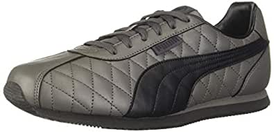 PUMA Men's Corona IDP Dark Shadow Black Sneakers-6 UK (39 EU) (7 US) (37189104)