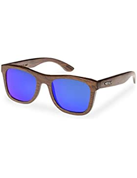 MAG WOOD FELLAS Sunglasses Jalo Mirror brown/blue