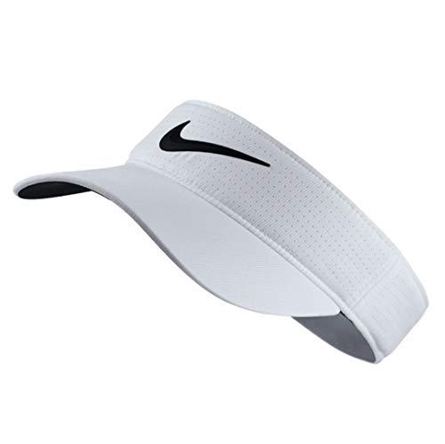 Golf Visor Für Damen (Nike Damen Golf-Visor Tech, white/black, One Size, 742709-100)
