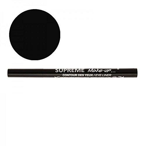Supreme Make Up Feutre Semi-Permanent Effet Tatouage Contour des Yeux Noir 1ml