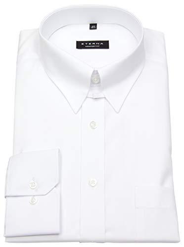 eterna Hemd Comfort Fit Tabkragen weiß, Größe 44