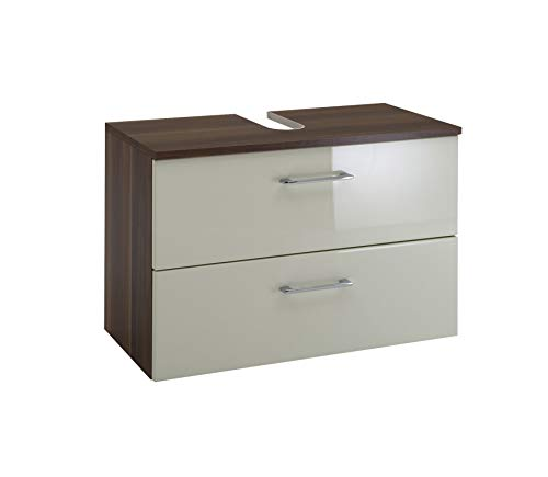 Held Möbel Unterbeckenschrank, Nussbaumfarben - 70x47x35 cm