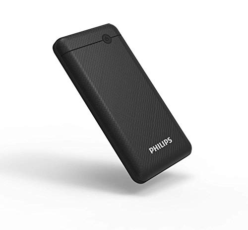 Philips DLP1710CV Fast Charging Power Bank 10000mAh with Lithium Polymer Battery Blue (Twin USB Output Port 3.1A, with Micro USB and Type c Enter) Image 3