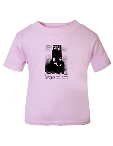 Beatles Palladium Children T Shirt Pink