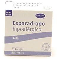 ESPARADRAPO HIPOALERGICO TELA HARTMANN 5 MM x 2,5 CM