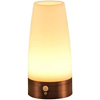 Auraglow Wireless Pir Motion Sensor Table Lamp Super