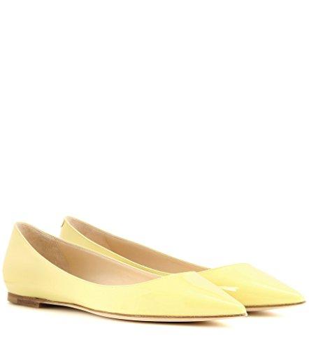 Elashe - Calzado Mujer - Ballet - Ballet Mujer - Classic Flats Yellow