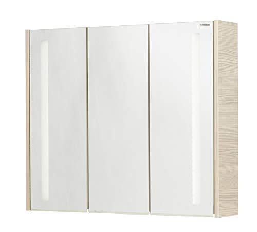 FACKELMANN Spiegelschrank, pinie, 16 x 79,5 x 67 cm