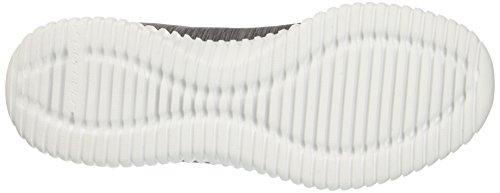 Skechers Elite Flex-attard, Sneaker Uomo Grigio (Charcoal)