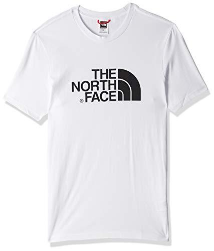 The north face m s/s easy, maglia a maniche corte uomo, bianco (tnf white), s