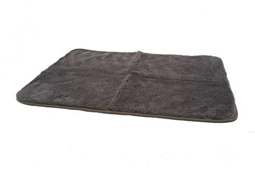 Hundedecke 70 x 100 grau Heim Tier Decke Hunde Katzen - 2