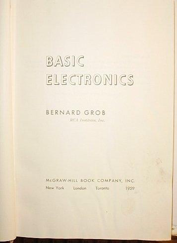 Free Pdf Download Basic Electronics Popular Online By Bernard Grob