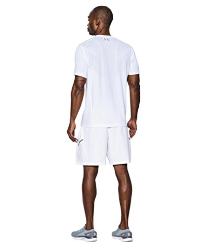 Under Armour T-shirt de tennis Thre adborne Centre Court  weiss (100)