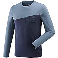 Millet Golden TS LS Shirts Hombre, Hombre, Color Ink/Teal Blue, tamaño FR : XL (Taille Fabricant : XL)
