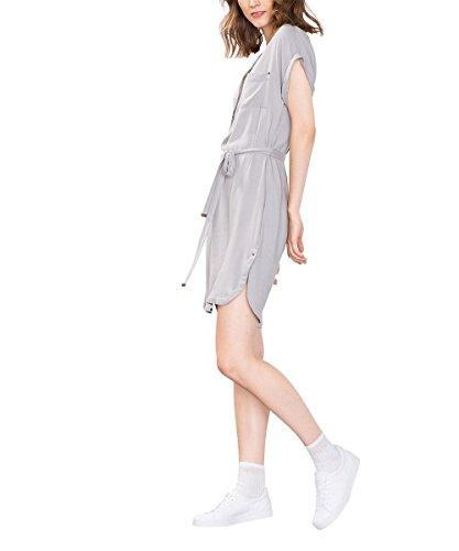 edc by Esprit 076cc1e006, Robe Femme Gris (GUNMETAL 015)