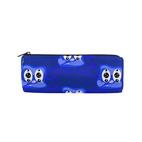 n mit Reißverschluss, Motiv Monster, Blau ()
